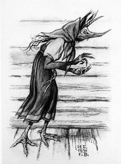 1934 Illustration by Ivan Bilibin