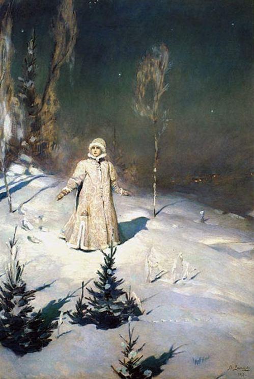 Snow Maiden (1899) by Viktor M. Vasnetsov